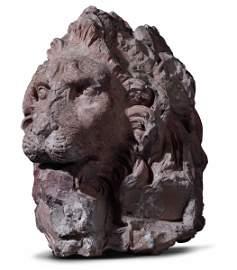 A terracotta lion head, GL Bernini's workshop, 1654-57