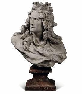 Busto di Von Corneille Van Cléve Terracotta Attribuito