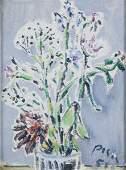 Filippo De Pisis 18961956 Vaso di fiori 1951