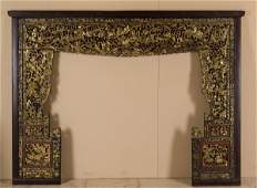 A part of a bed, China, Canton, Qing Dynasty
