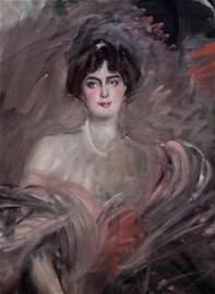 Giovanni Boldini (1842-1931), Ritratto di Mademoiselle