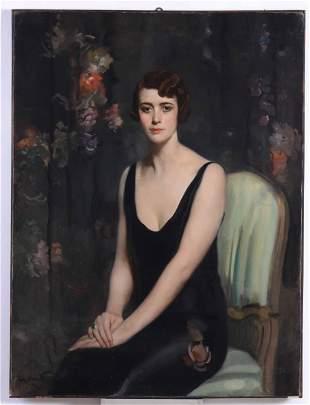 Anonimo del XX secolo, Ritratto femminile