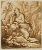 Domenico Piola (Genova 1627-1703), Maria Maddalena in