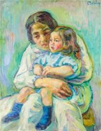 Nicolas Tarkhoff (1871-1930), Motherhood, 1906-07