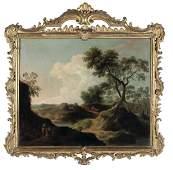 Scuola italiana del XVIII secolo, Paesaggi con