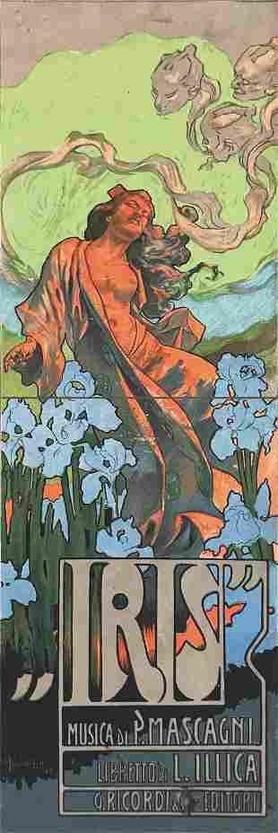 Adolf Hohenstein (1856-1928), IRIS, MUSICA DI