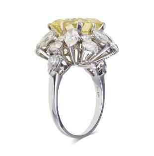 """Bulgari. """"La dolce vita†anello con diamante fancy"""