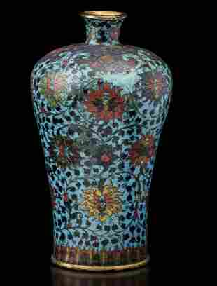 A Meiping vase, China, Ming Dynasty