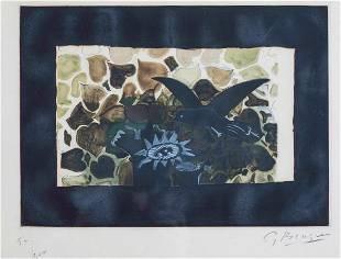 Georges Braque (1882-1963), Le nid vert, 1950 ca