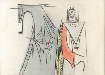 Wifredo Lam (1902-1982), Personnage, 1959