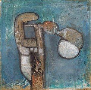 Sebastian Matta (1911-2002), Composition, 1961
