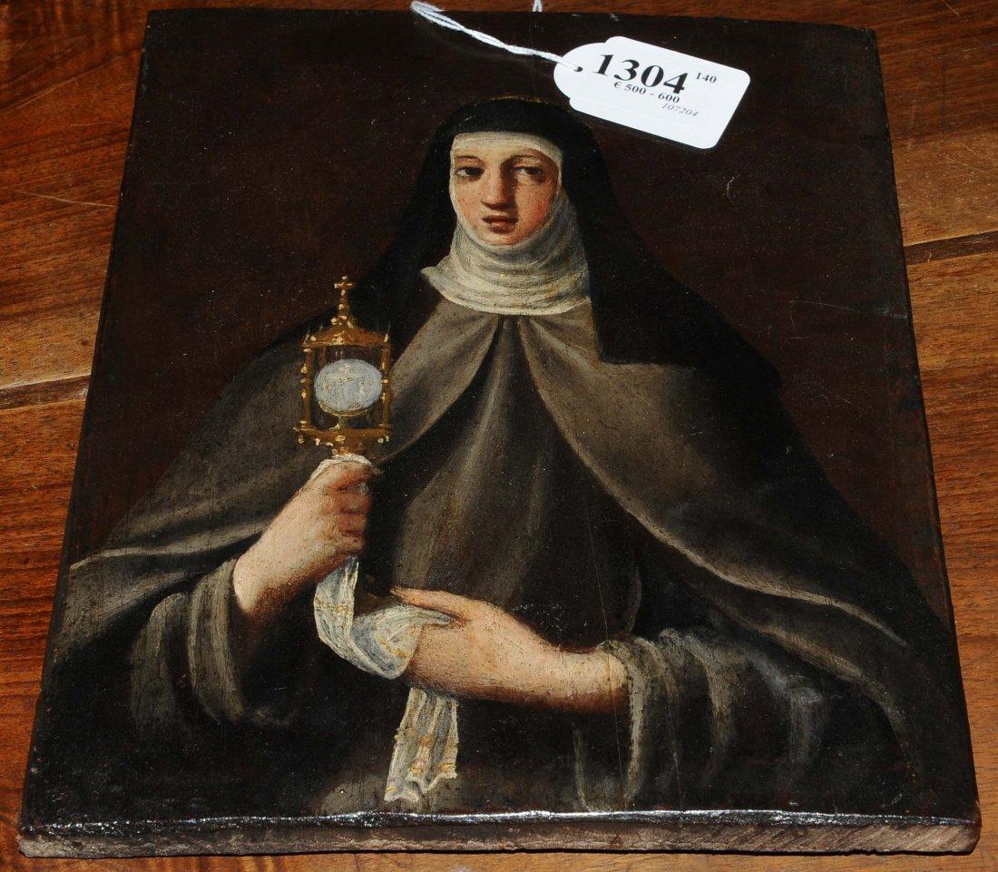 Anonimo del XVIII secolo Santa Chiara
