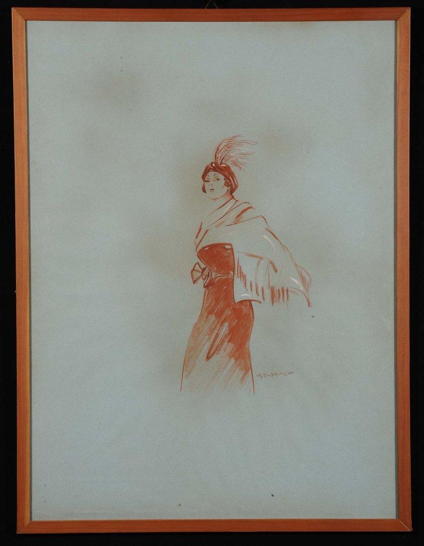 Marcello Dudovich (1878-1962) Figura femminile