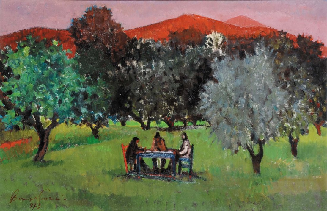 Beppe Guzzi (1902-1982) Nel parco