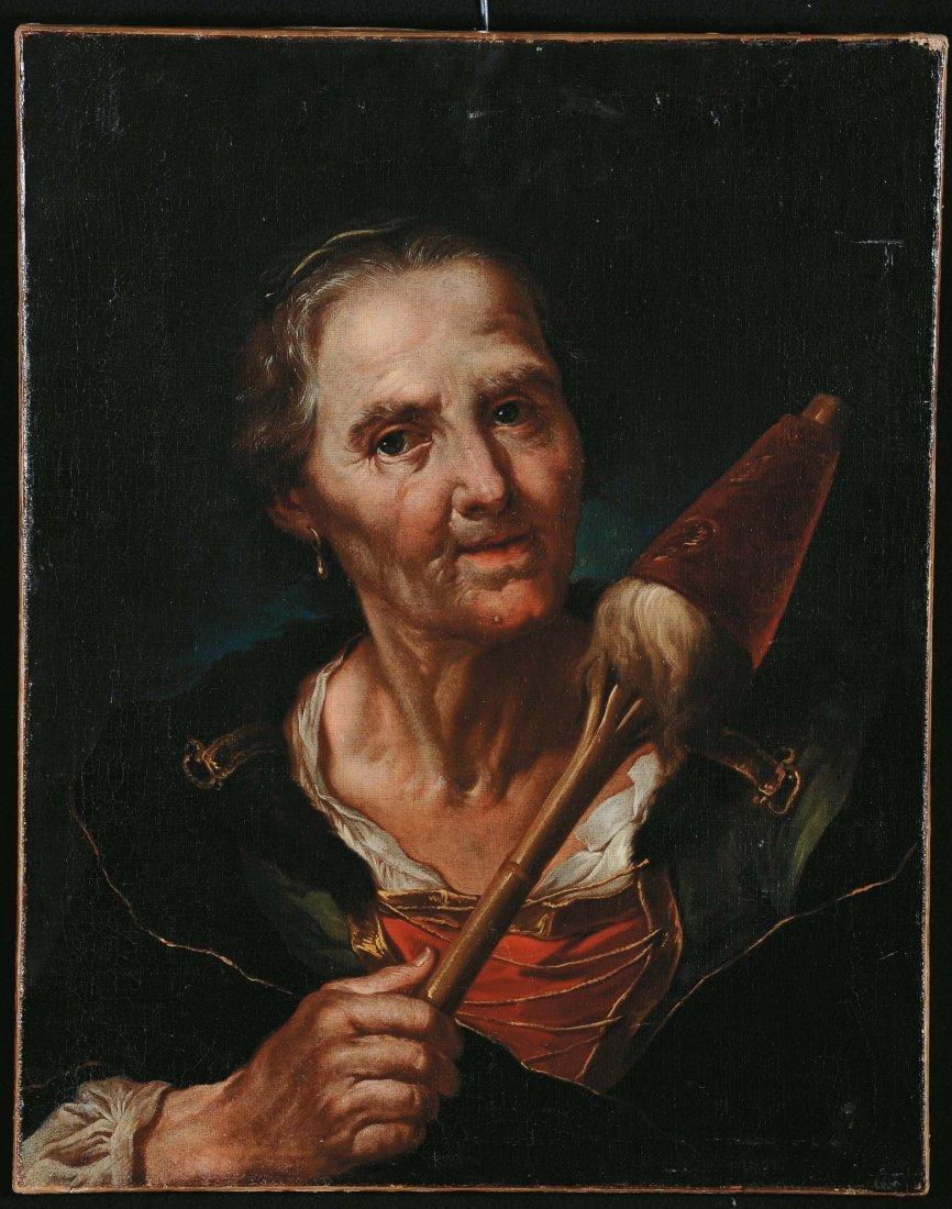 Giuseppe Nogari (1699-1763) , Ritratto di anziana