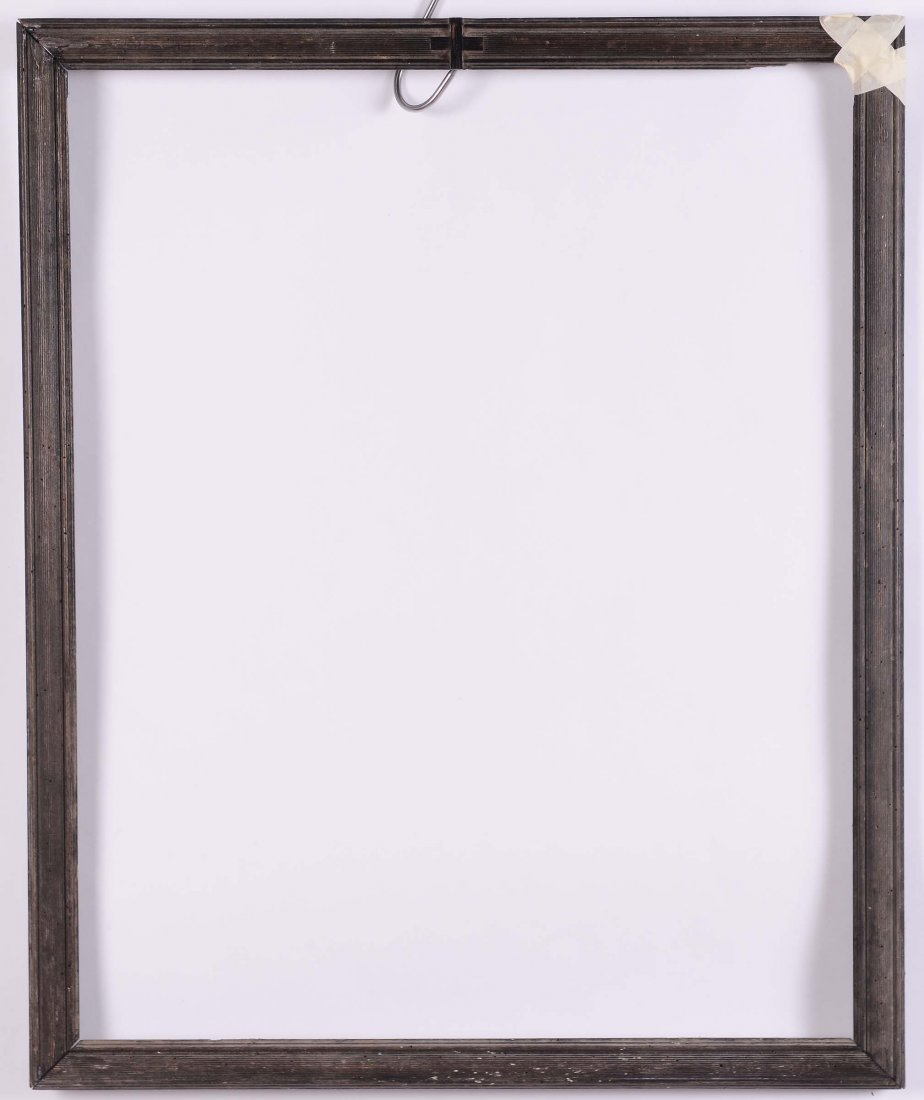 Cornice da stampa ebanizzata, XIX secolo