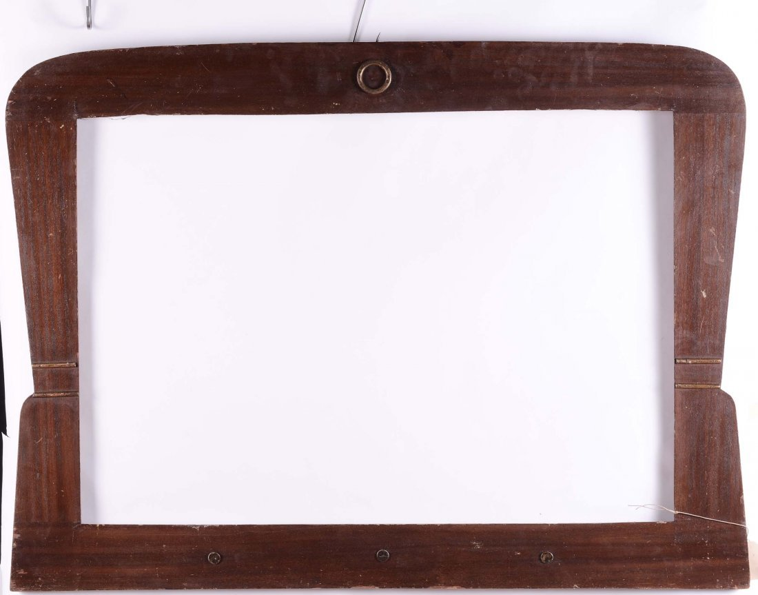 Cornice DŽco da specchiera in legno naturale, XX secolo