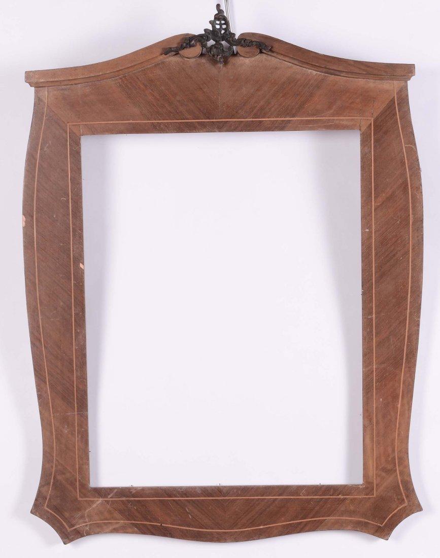 Cornice da specchiera in stile barocchetto, XX secolo