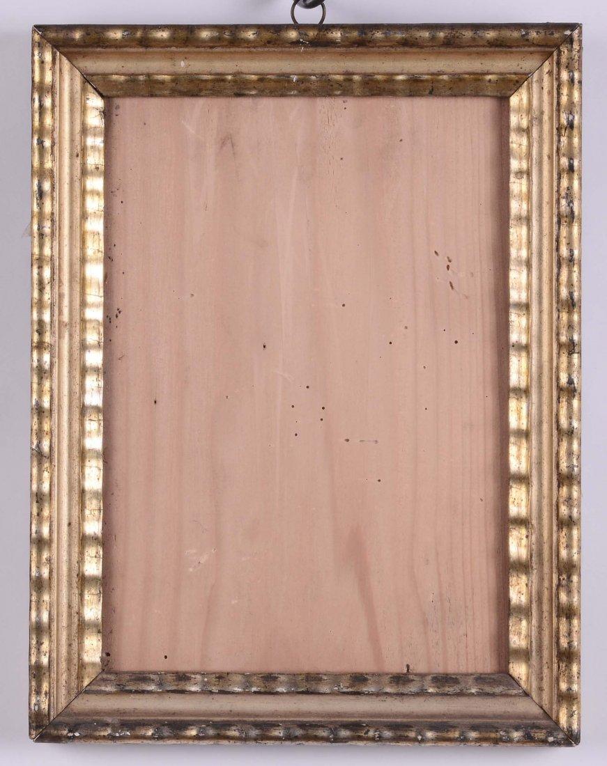 Cornicetta da stampa dorata a mecca, XIX secolo