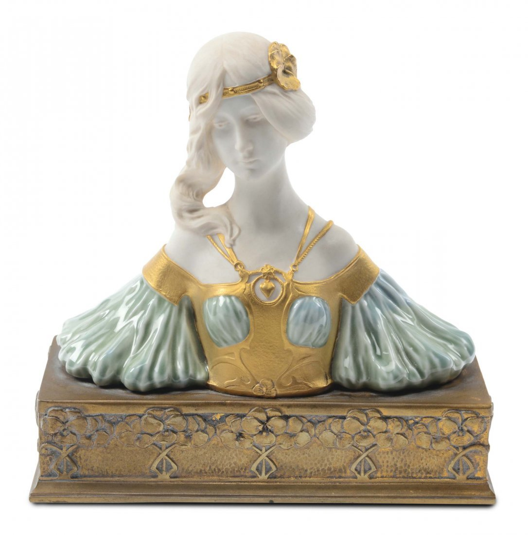 Charles Korschann - Pierre Louchet - Parigi Busto di