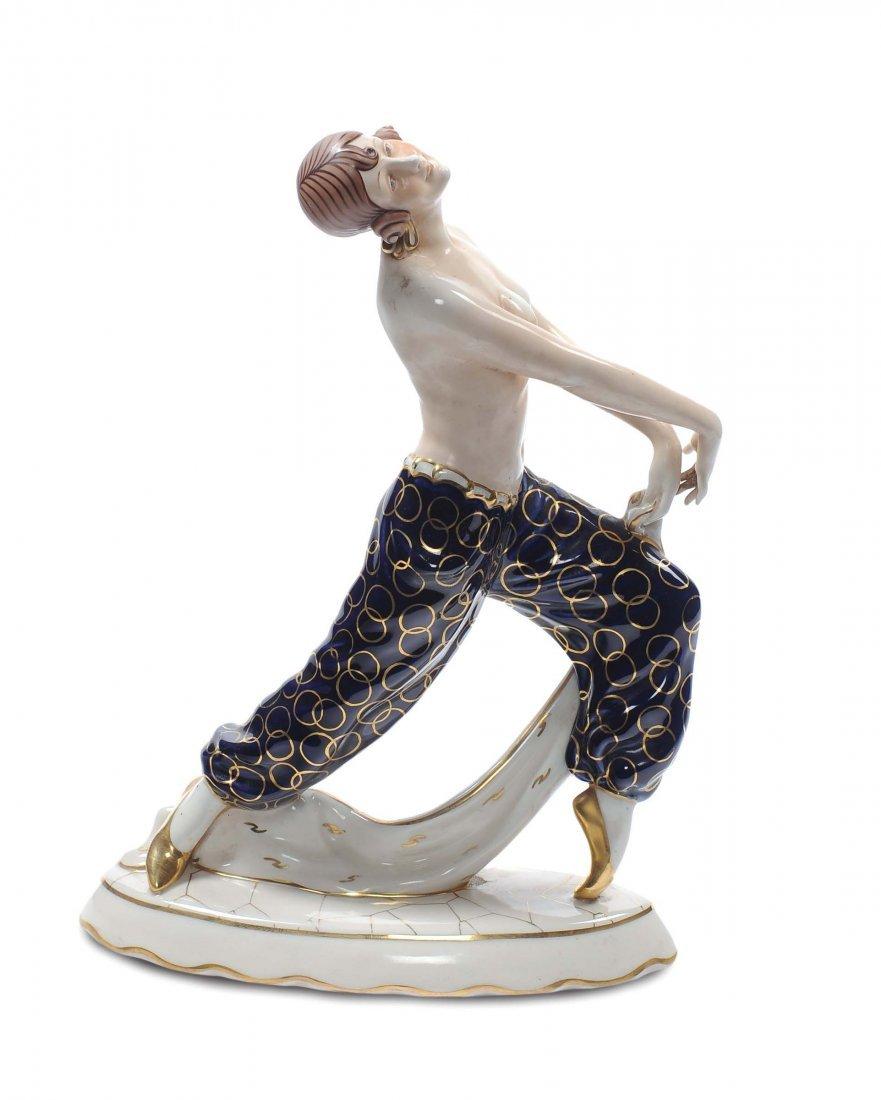 Royal Dux - Cecoslovacchia Danzatrice