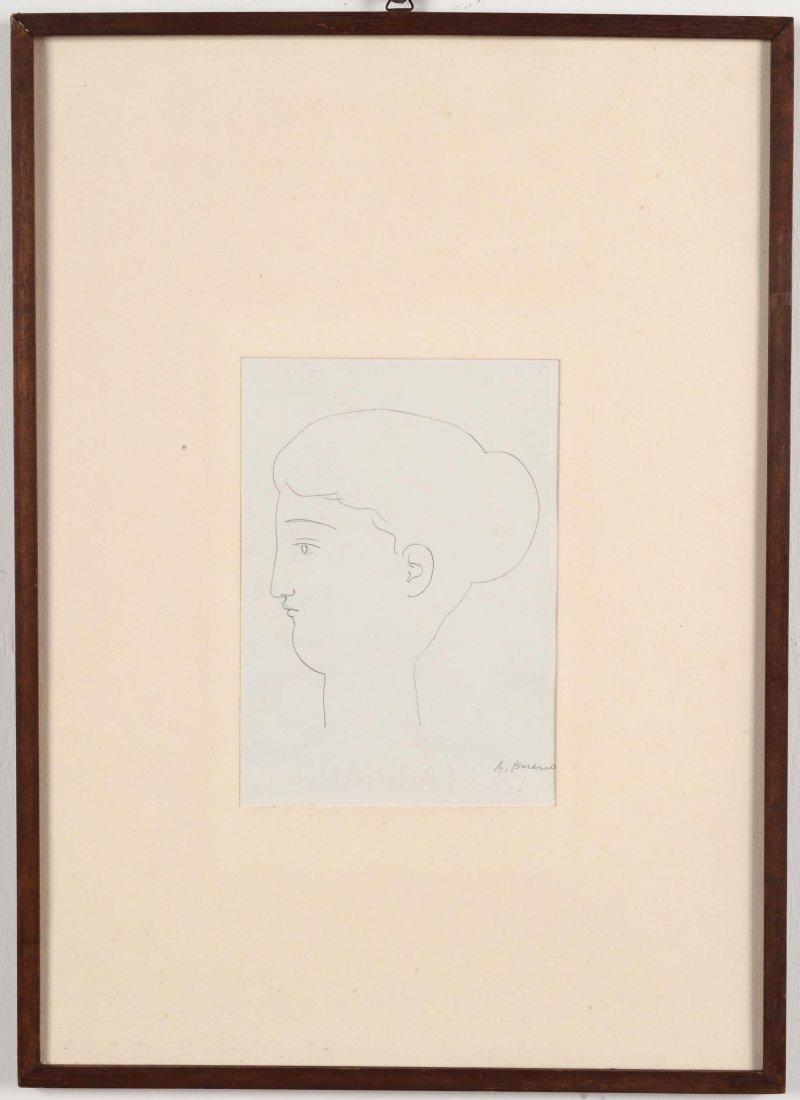 Antonio Bueno (1918-1984) Testa femminile