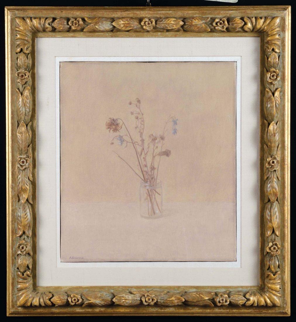 Antonio Bueno (1918-1984) Vaso con fiori secchi, 1960
