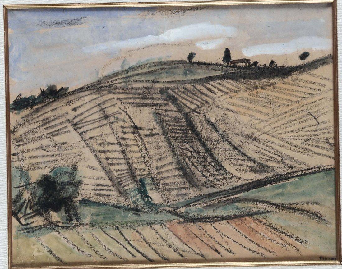 Mario Sironi (1885-1961) Montagne