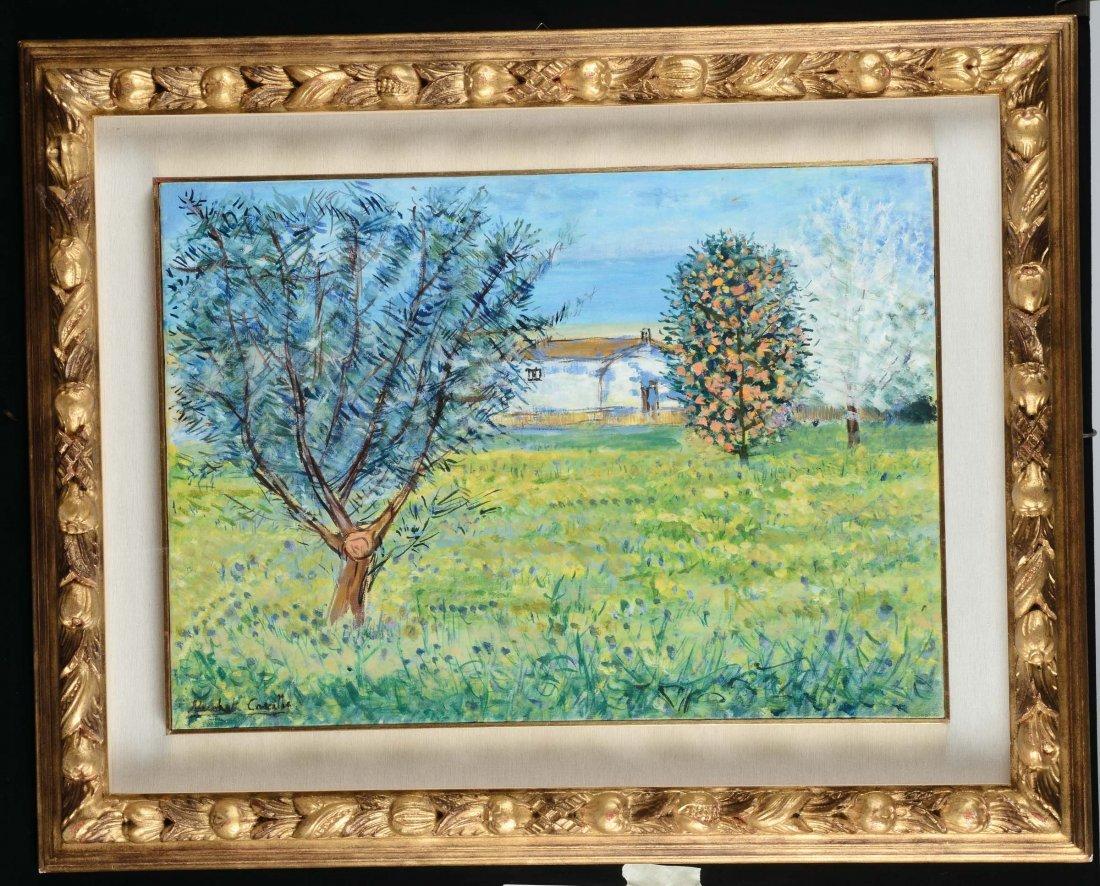 Michele Cascella (1892-1989) Casolare in Abruzzo