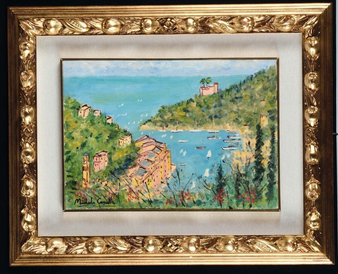 Michele Cascella (1892-1989) Portofino, la baia