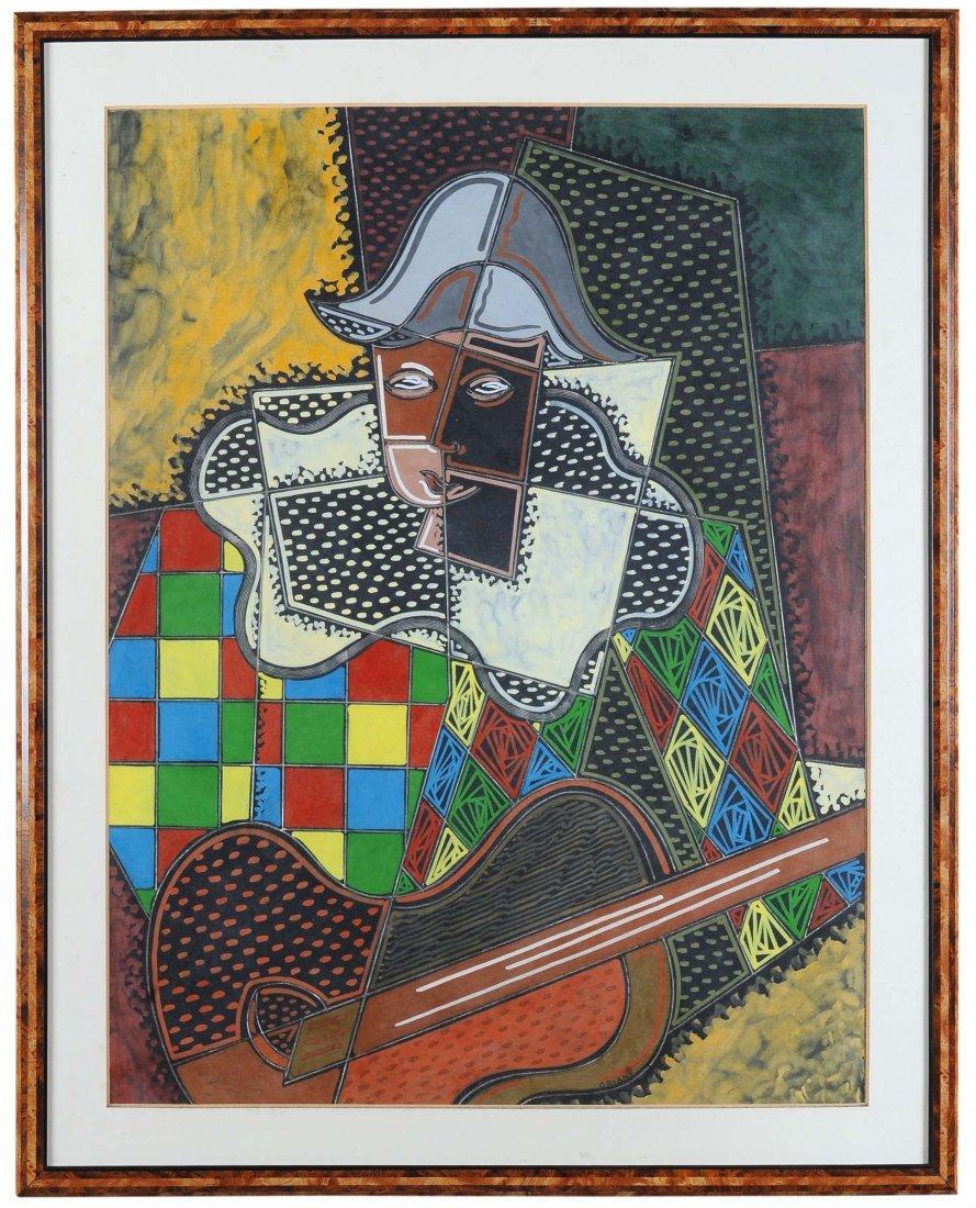 Pippo Oriani (1909-1972) Arlecchino