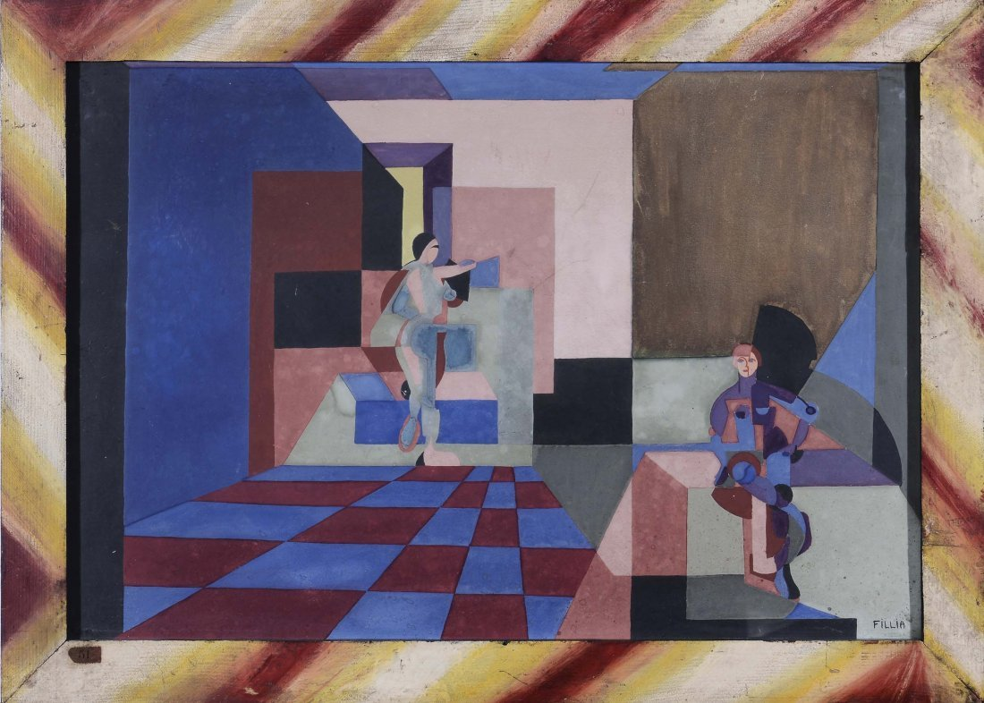 Luigi Fillia (1904-1936) Ballerine, 1923 circa