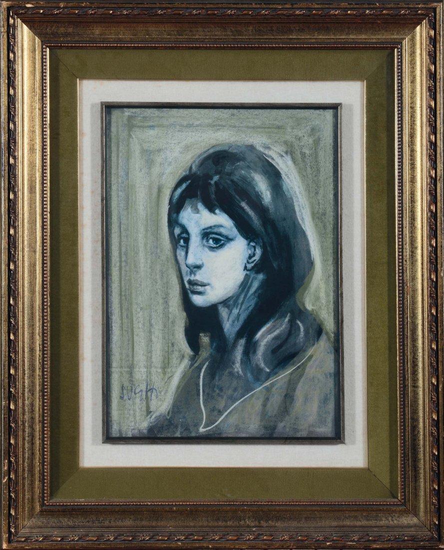 Alberto Sughi (1928) Ritratto femminile