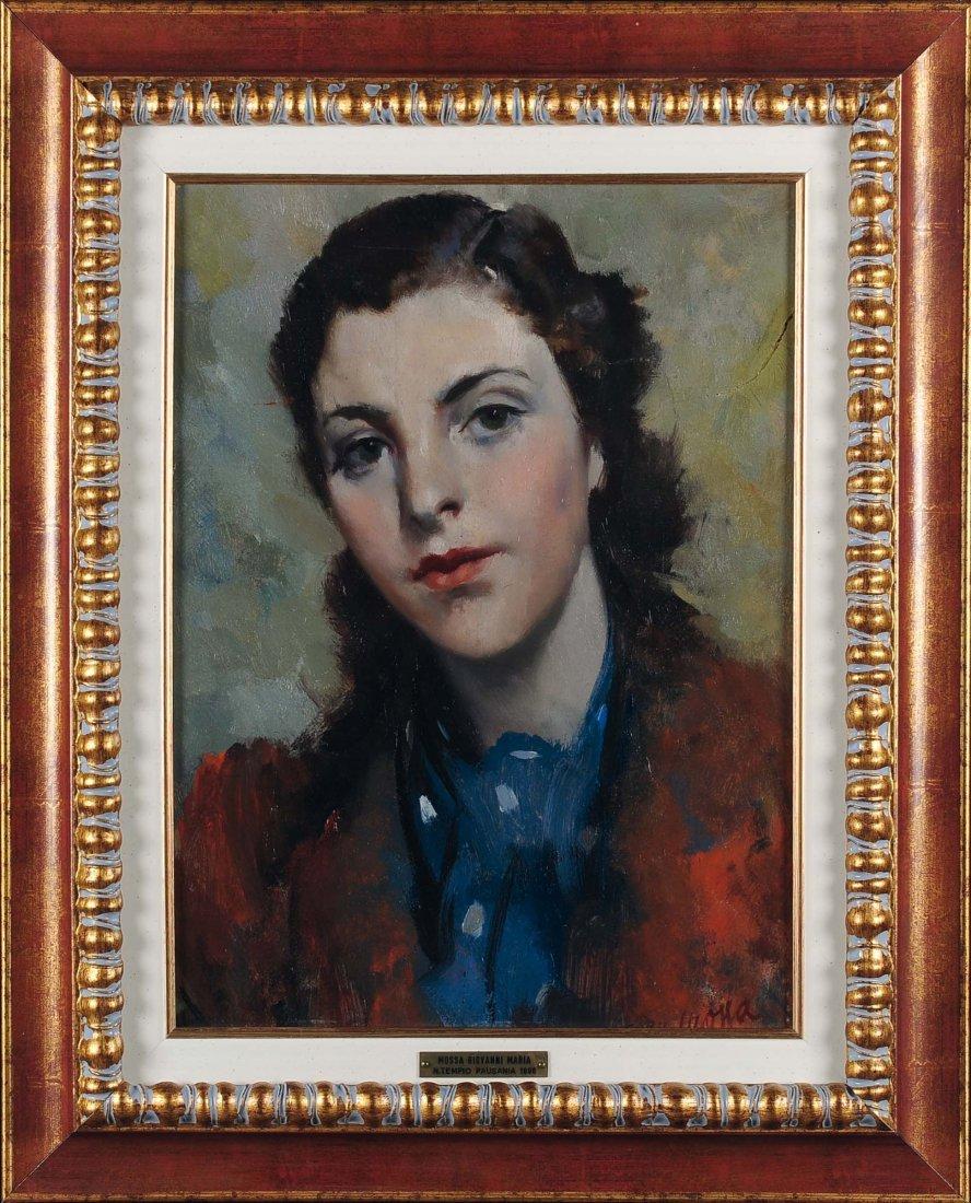 Giovanni Maria Mossa (1896-1973) Volto femminile