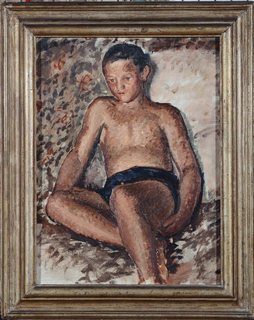 Raffaele Collina (1899-1968) Figura di giovane