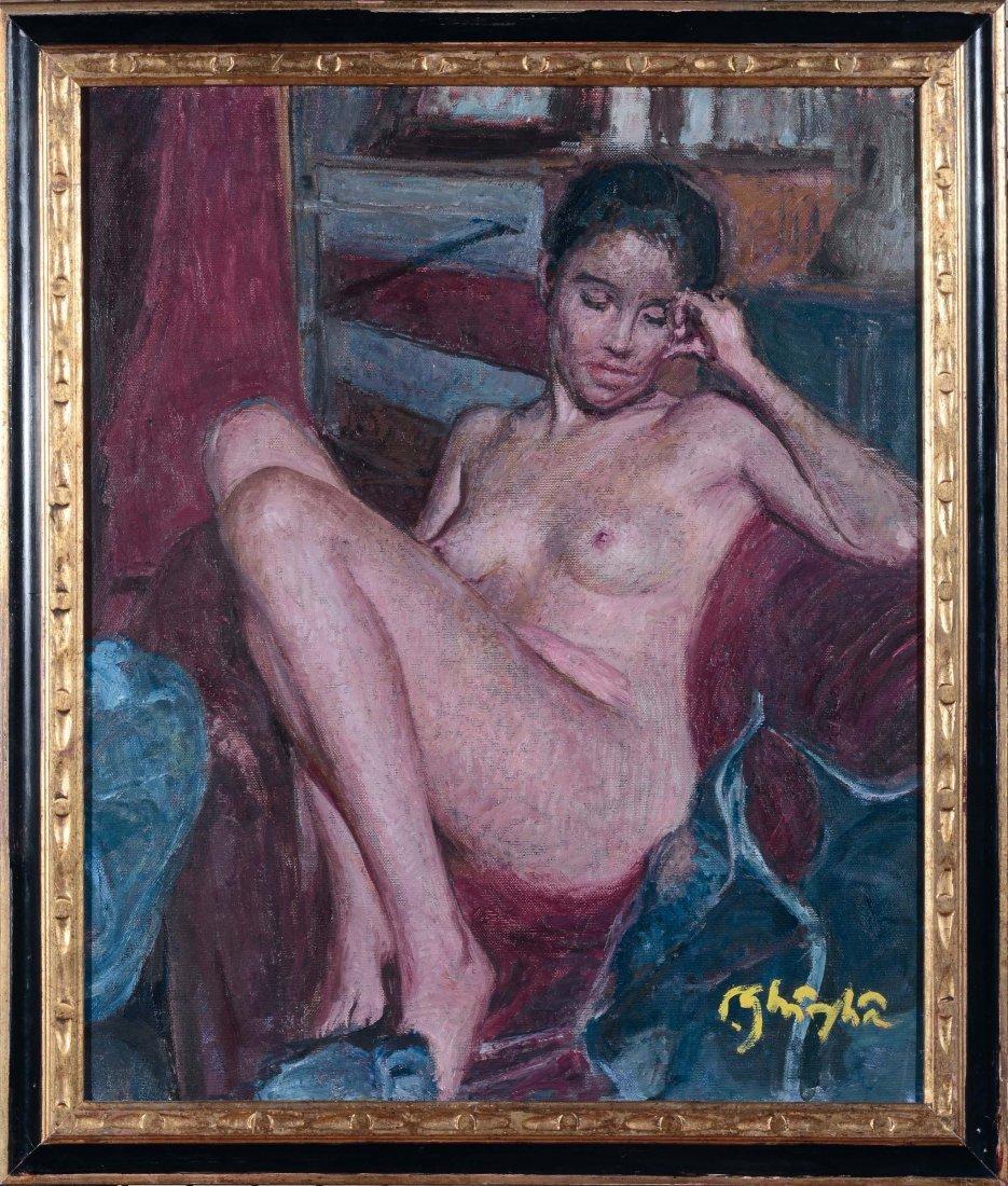 Paolo Ghiglia (1905-1979) Nudo femminile