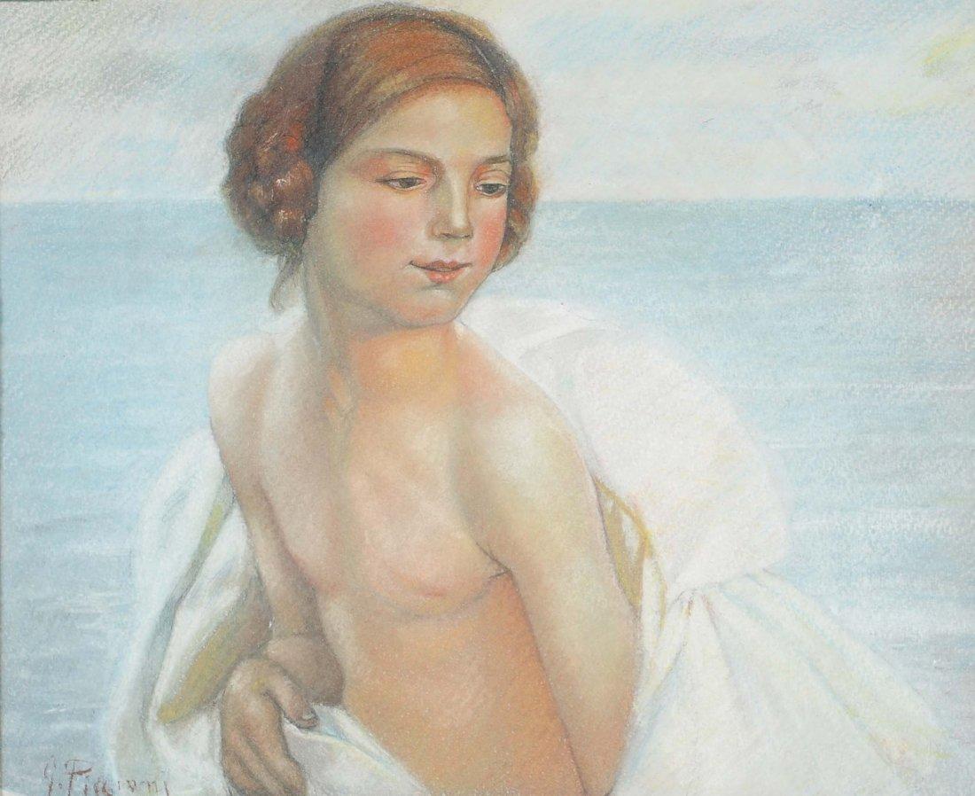 Gino Piccioni (1873-1941) Ragazza