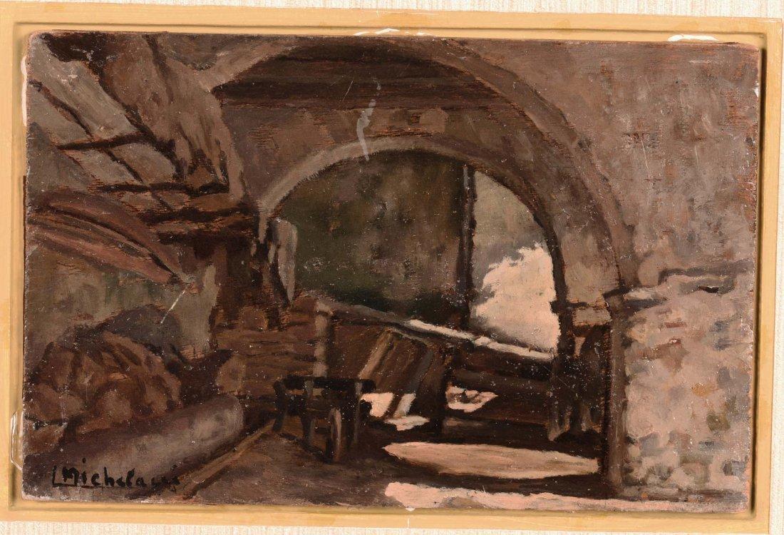 Luigi Michelacci (1879-1959) Interno