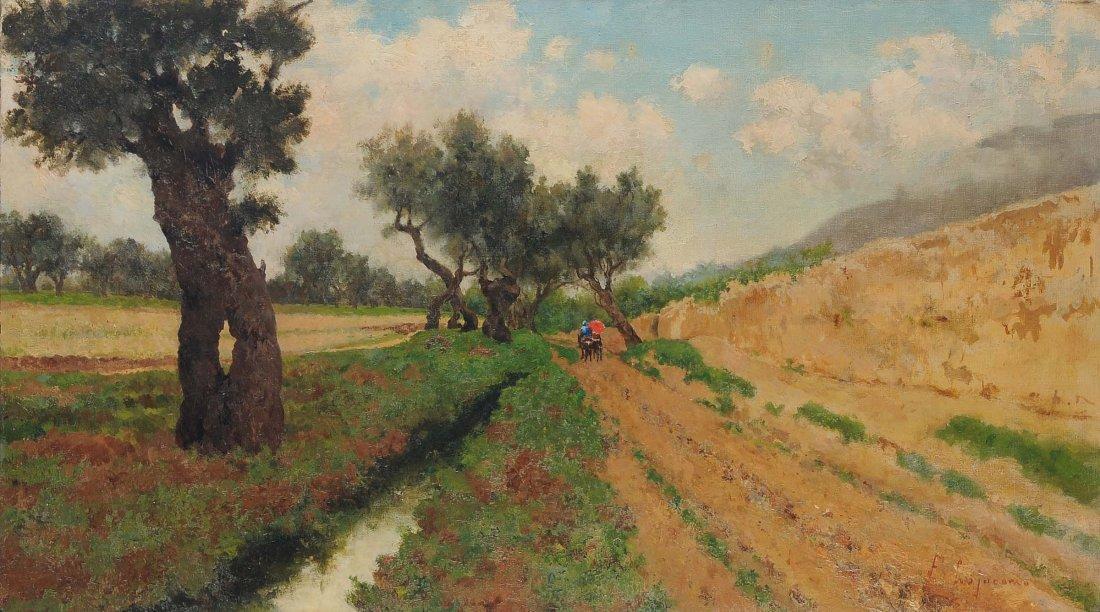 Francesco Lojacono (21838-1915), ambito di Veduta di