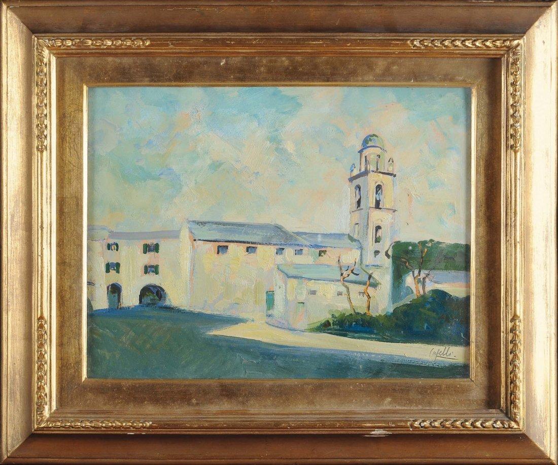Giuseppe Caselli (1893-1976), attribuito a La vecchia