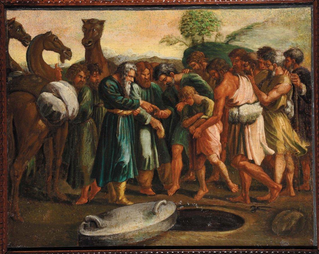 Anonimo del XX secolo 'Scene bibliche'
