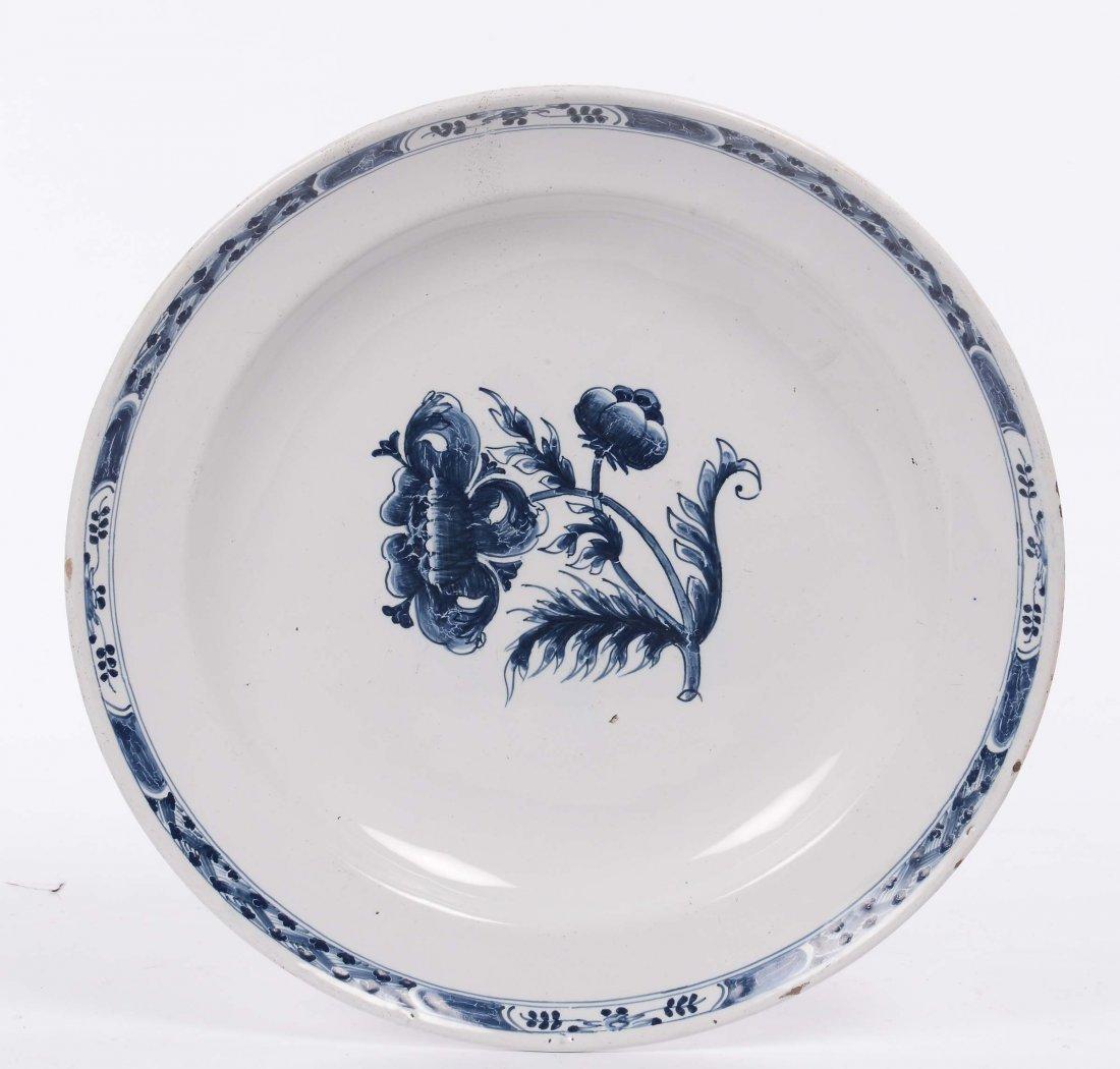 Grande piatto in maiolica, XIX secolo