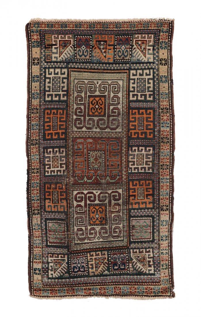 Tappeto caucasico Kazak, inizio XX secolo