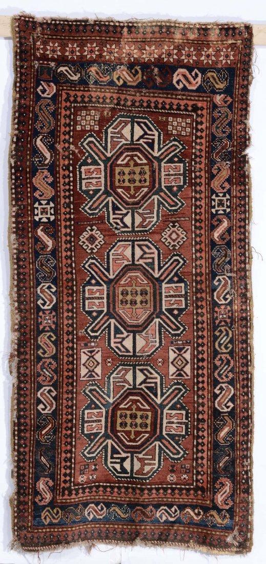 Tappeto caucasico Karabagh, fine XIX secolo