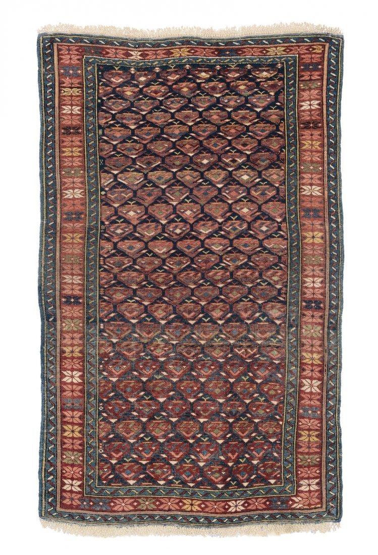 Tappeto caucasico Kuba, fine XIX secolo