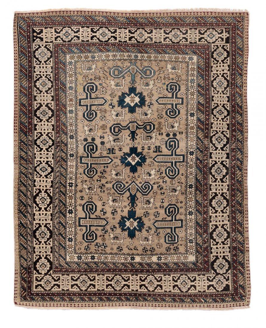 Tappeto caucasico Shirvan Perepedil, fine XIX inizio XX