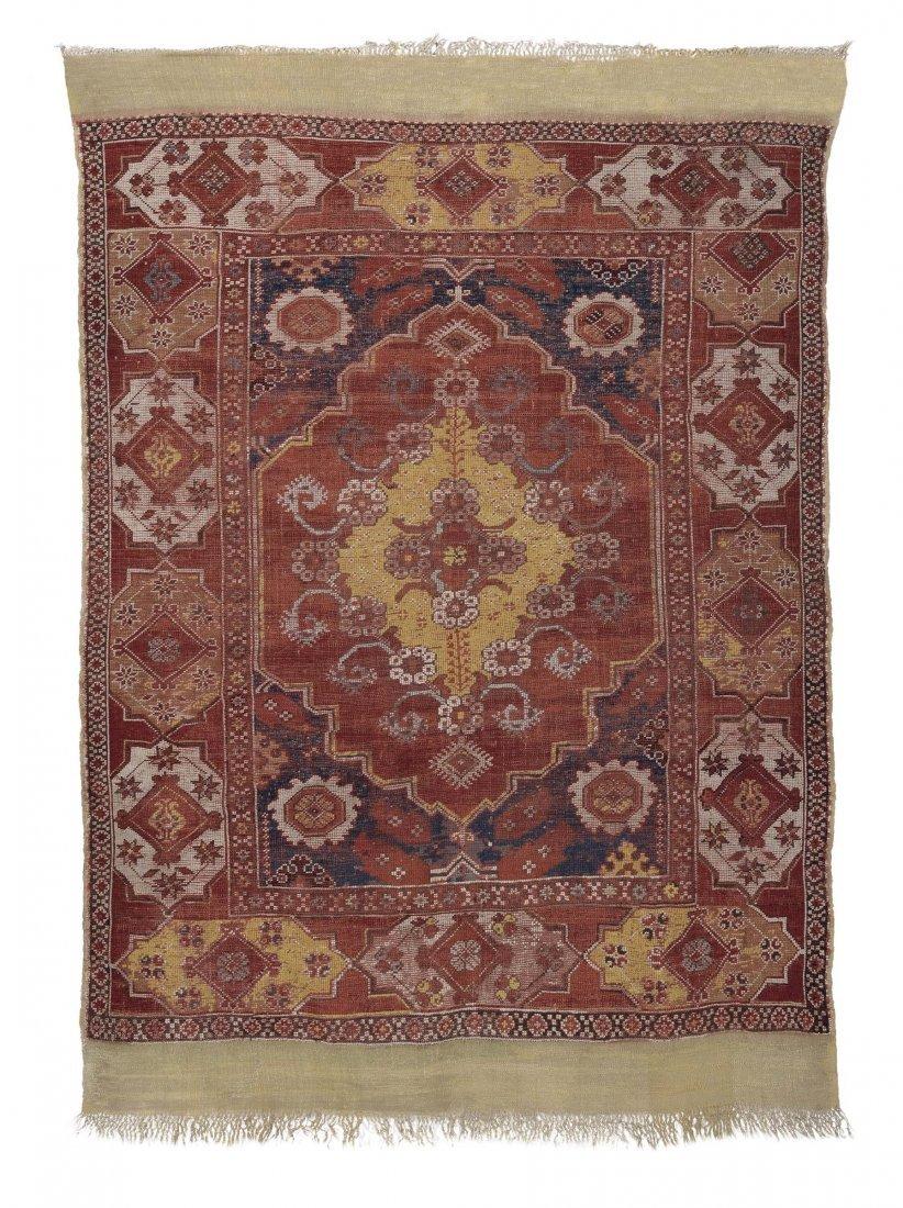 """Importante tappeto anatolico """"Transilvano"""", XVIII"""