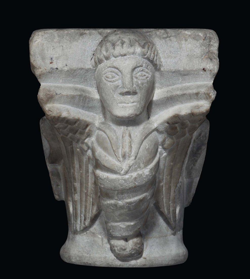 "Romanesque sculptor, 13th / 14th century ""Illustrated"