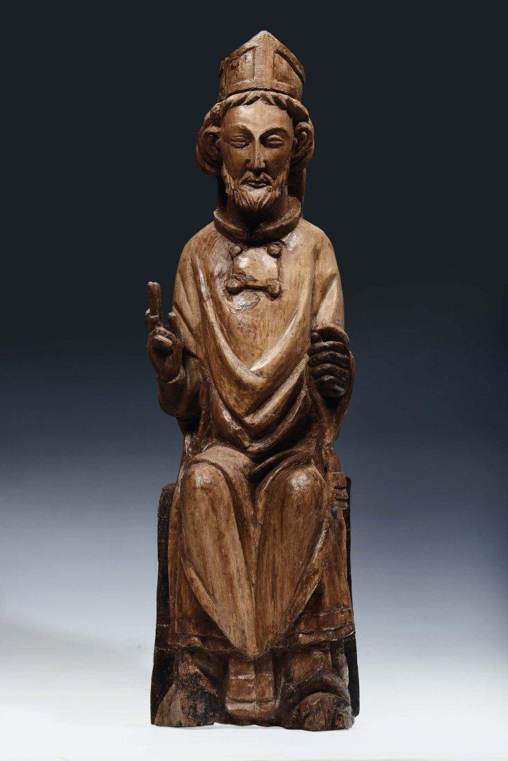 "Umbria or Abruzzo area, 13th /14th century ""Saint"