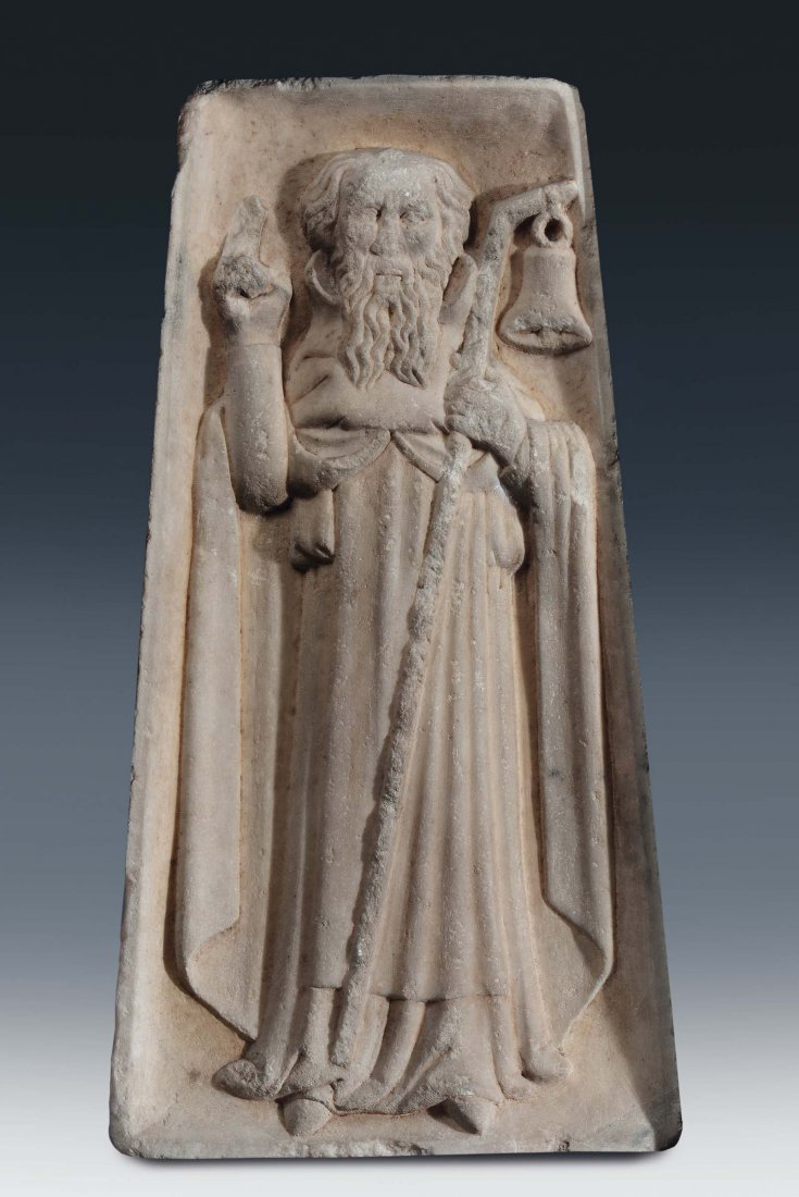 """Sculptor from northern Italy, 14th /15th century """"Saint"""